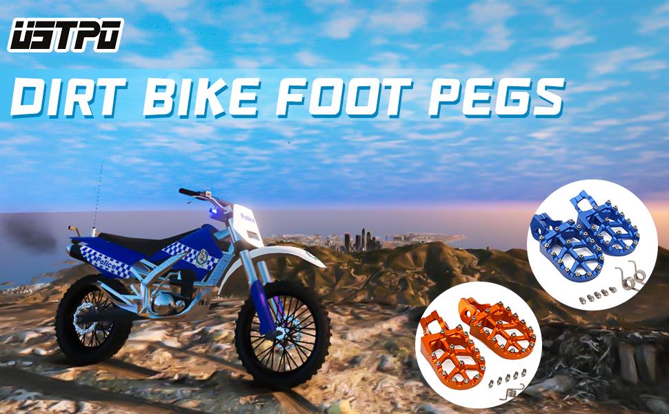 dirt bike foot pegs