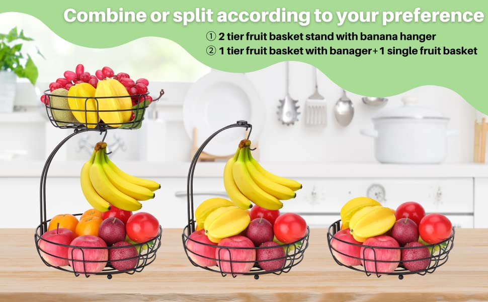 fruit bowl for kitchen counter