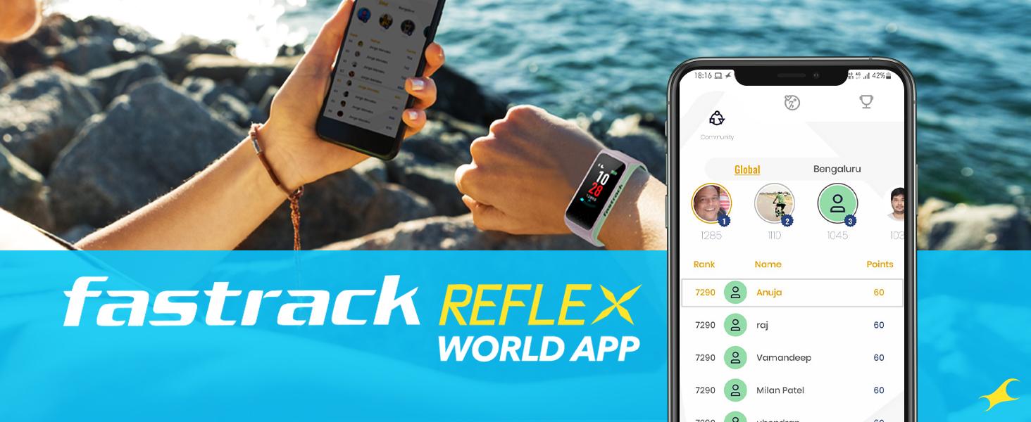 Fastrack Reflex World App