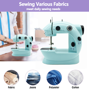 Sewing various fabrics