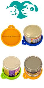 3 Pack Small can lids for Cat Food Cans