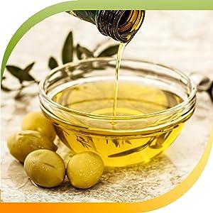 Gluten free in cold-pressed olive oil