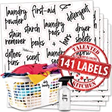 script laundry room labels by talented kitchen