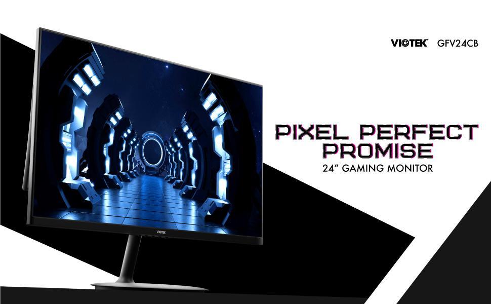 VIOTEK GFV24CB 24-Inch Gaming Monitor | 165Hz FHD 1920x1080p