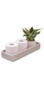 perfume organizer for dresser counter top organizing toilet basket tank topper white tray decor