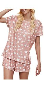 Luranee Womenamp;amp;amp;#39;s 2 Pieces Soft Pajamas Sets