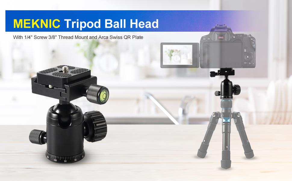 Mini Ball Tripod Head