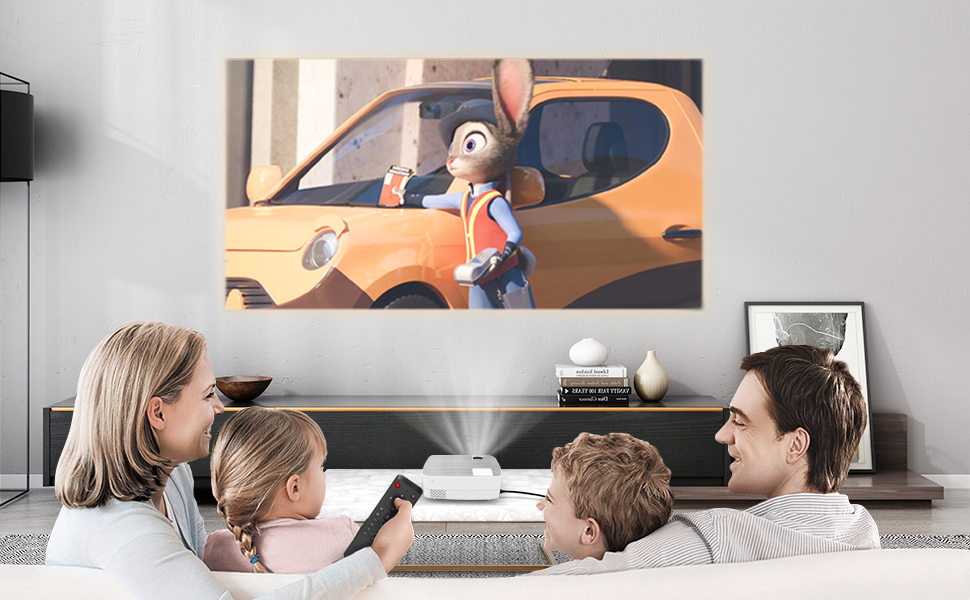 Movie Projector for Home Use