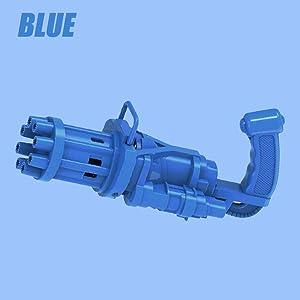 Bubble Gatling Gun,Gatling Bubble Machine 2021 Cool Toys & Gift,8-Hole Huge Amount Bubble Maker