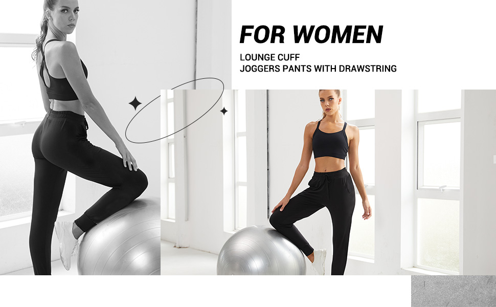 2 Pack Sweatpants for Women-2