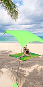 sand anchor wind shelter womens cruiser with gears xl outdoor backyard green camping trip picnic