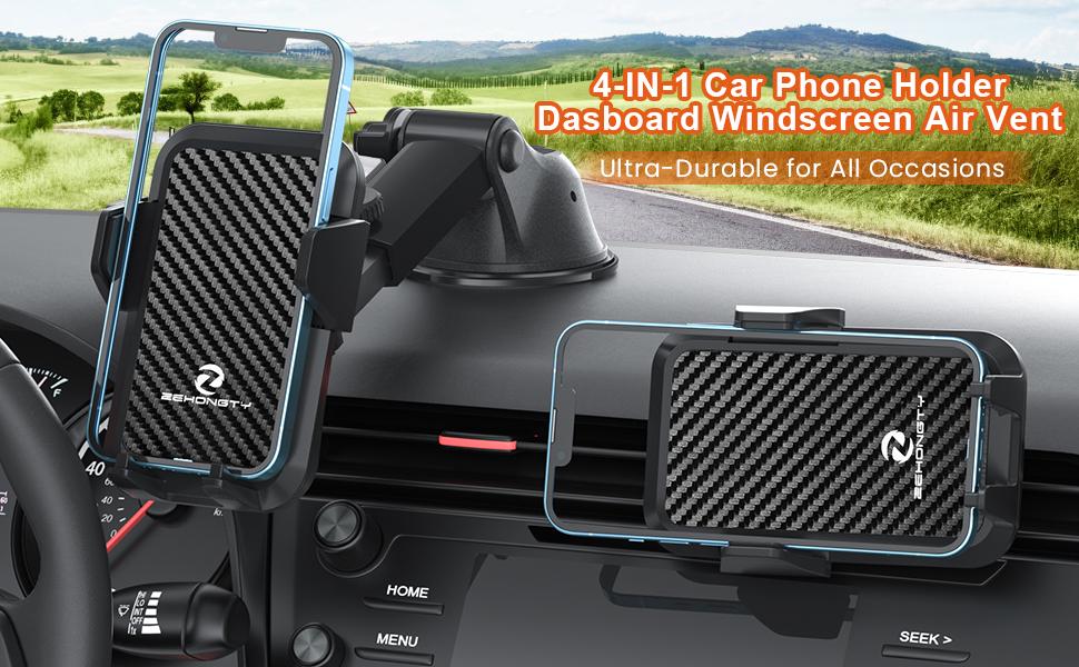 Car Phone Holder Mount dashboard windscreen air vent