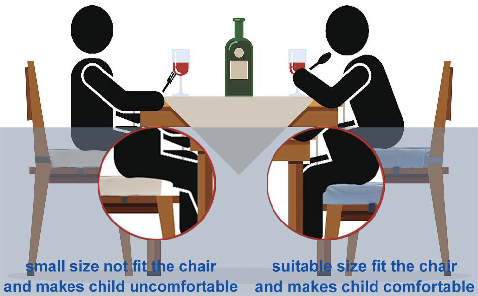booster seat dining