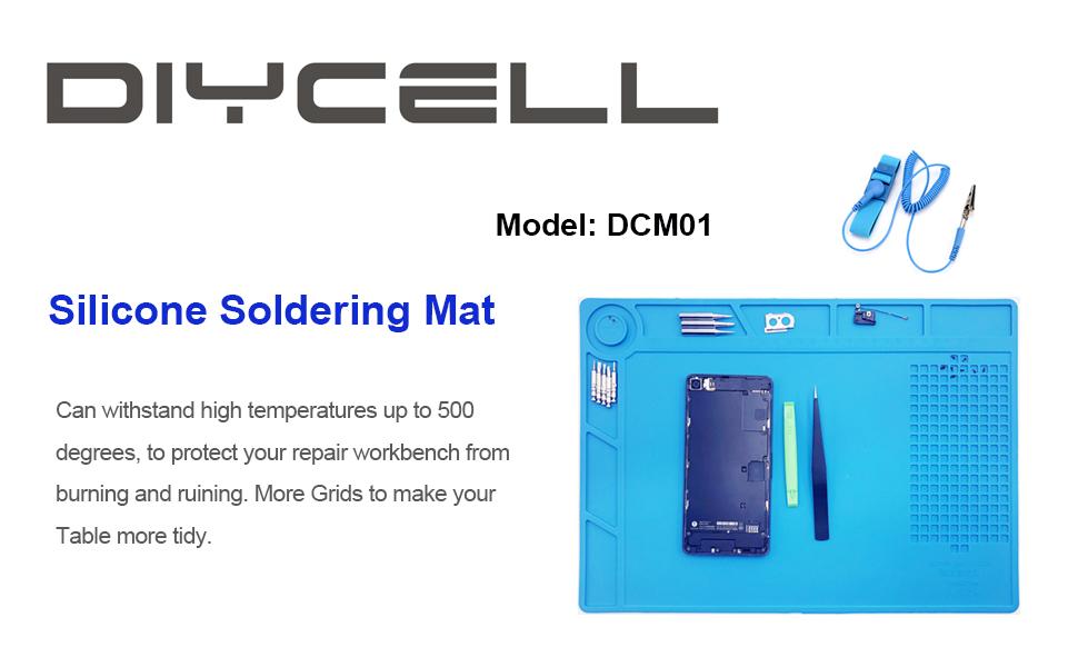 Silicone Heat Insulation Soldering Mat