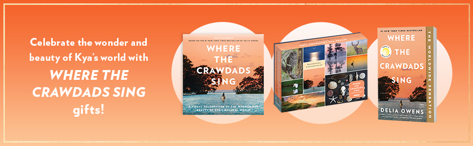 Celebrate the wonder and beauty of Kya's world with Where the Crawdads Sing gifts!