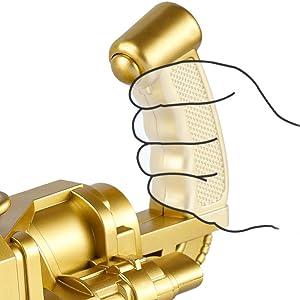 Electric Bubble Machine Black Gold Gatling Bubble Gun Children's Automatic Bubble Blowing Toy Gun