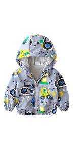 Toddler Boy Girl Hoodie Jacket
