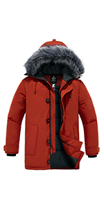 Menamp;amp;#39;s Warm Puffer Jacket