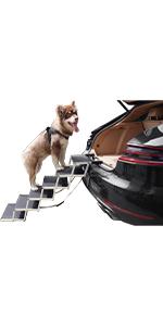 6 steps alum dog car ramp