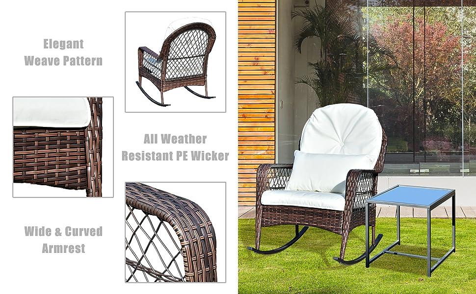 rocking chair set