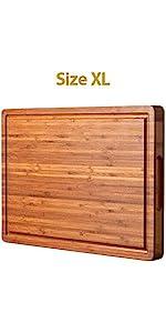 Thick cutting board XL