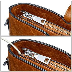 Smooth Zipper amp;amp;amp; Convenient Hole