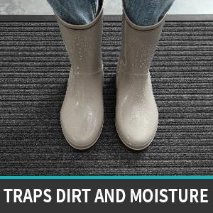 traps dirt