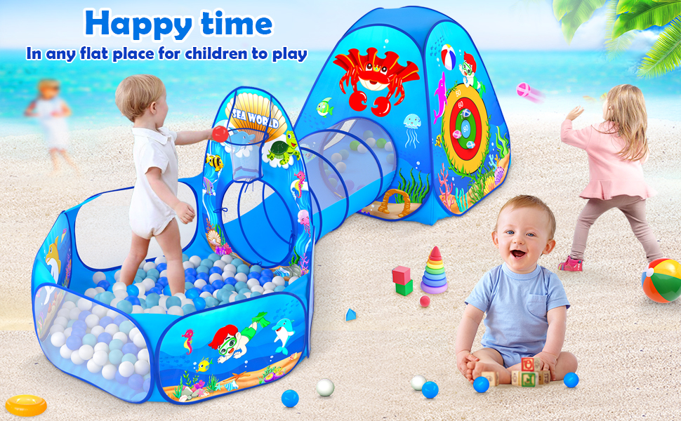 Happy Time: In any flat place for chidren to play