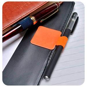 pen loop stylus adhesive leather pen holder