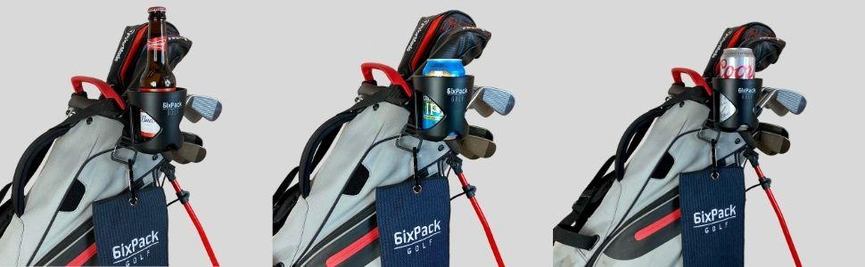 6ixpack golf cup holder for golfers