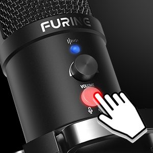 usb microphone with mute button