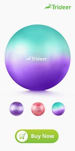 dreamy color yoga ball