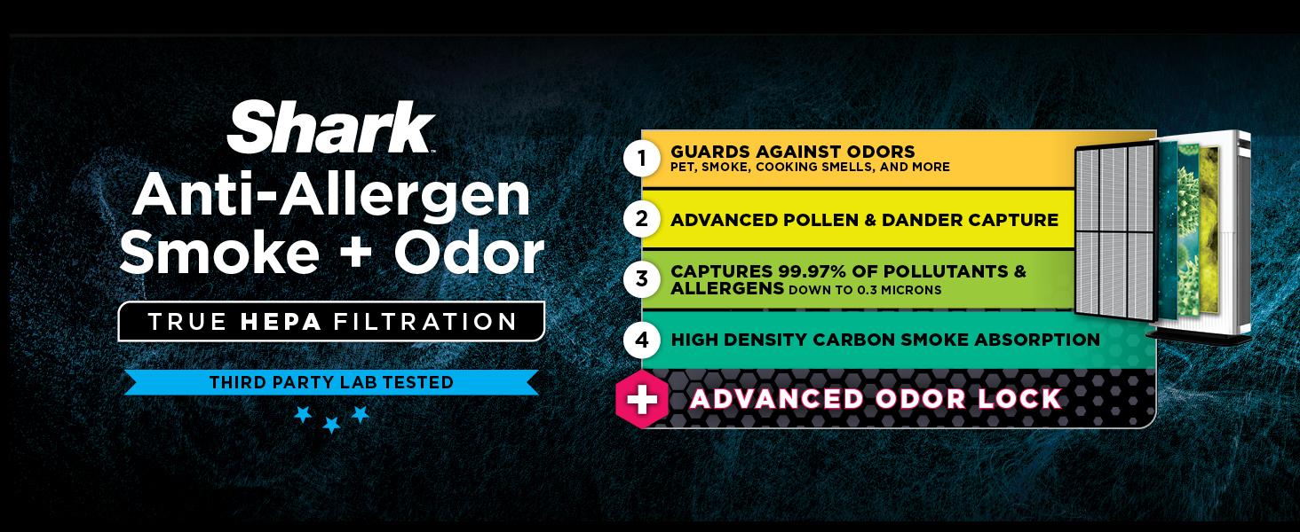 hepa with odor block