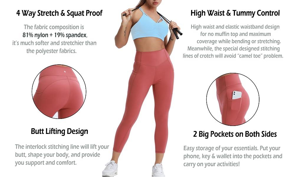 Solavia yoga pants - product detail