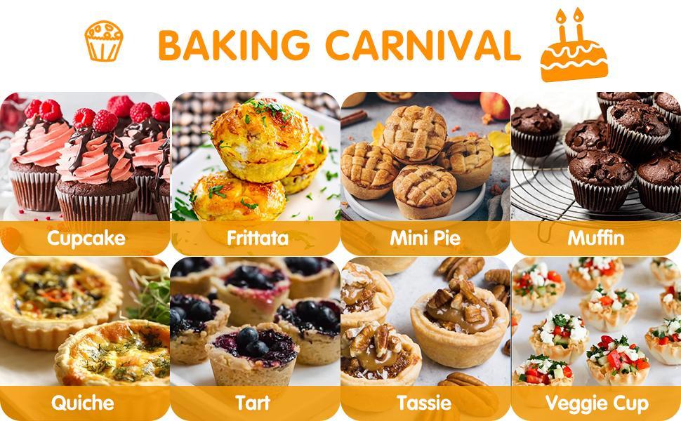 Non stick jumbo silicone muffin cupcake pan for muffin,cupcake,quiche,egg bite,tart,quiche,frittata