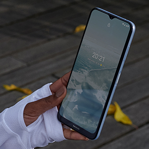 Nokia G20 - Fingerprint Sensor and Biometrics