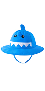 Toddler animal sun hats