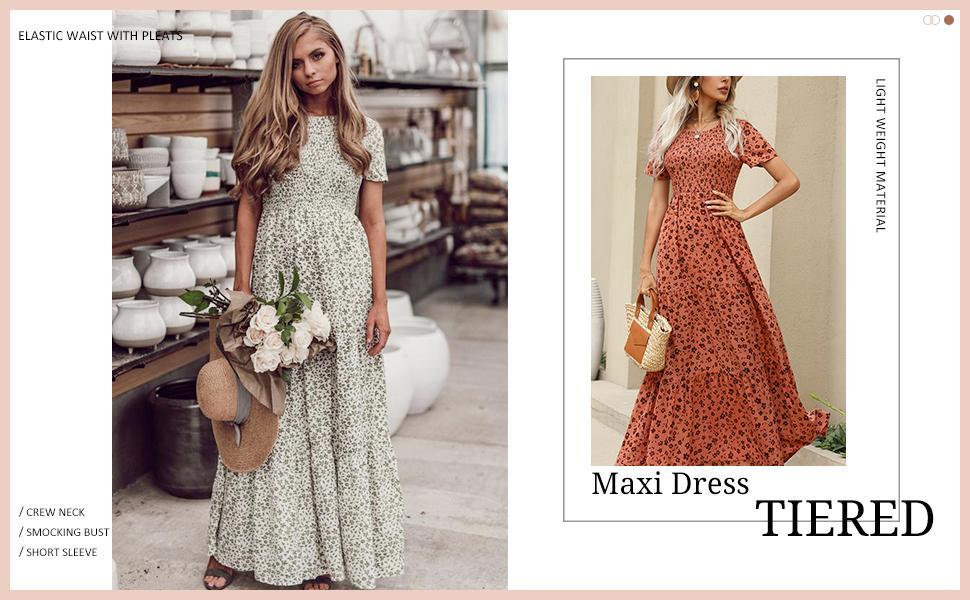 tiered maxi dress maxi summer dresses womens long summer dresses long maxi dress floral maxi dress