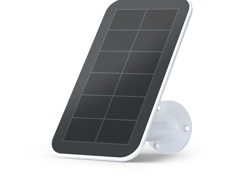 Arlo Solar Panel Charger (2018 Release) for Arlo Ultra, Ultra 2, Pro 3, and Pro 4