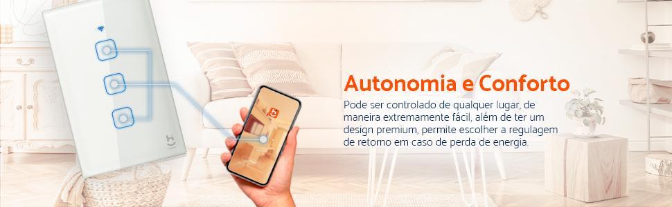 Interruptor Inteligente Touch para Automação