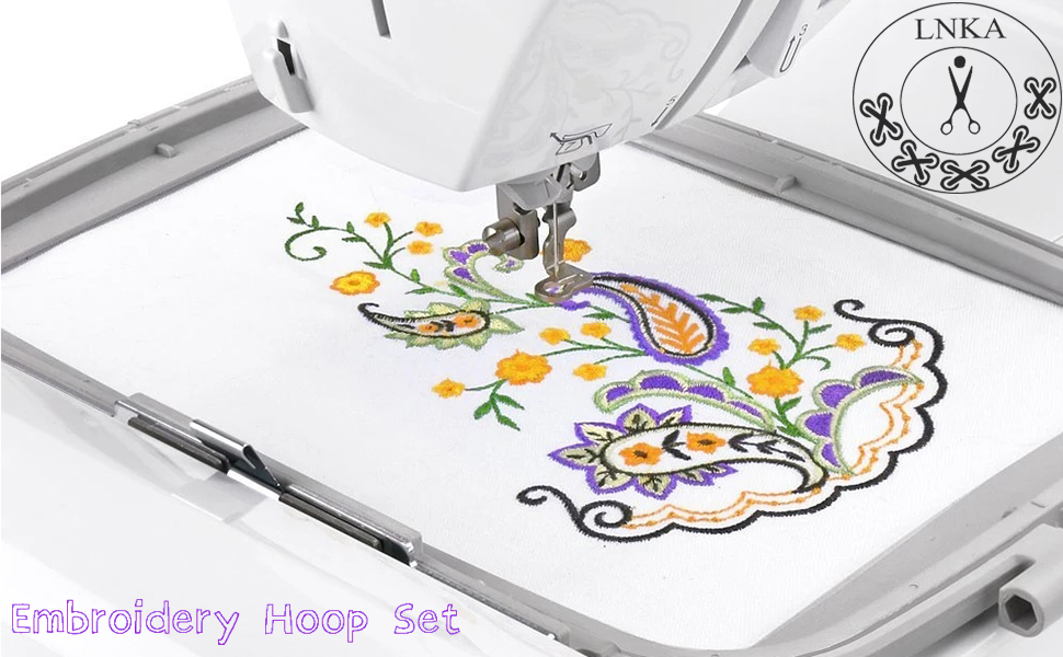 Embroidery Hoop Set for Brother Embroidery Sewing Machine