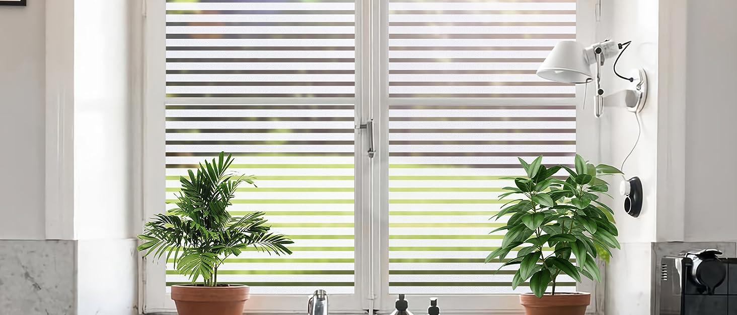 Stripe Window Sticker