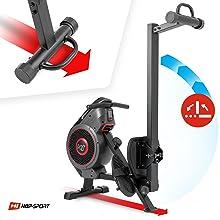 Hop-Sport HS-065AR Rudergerät - Klappbarkeit