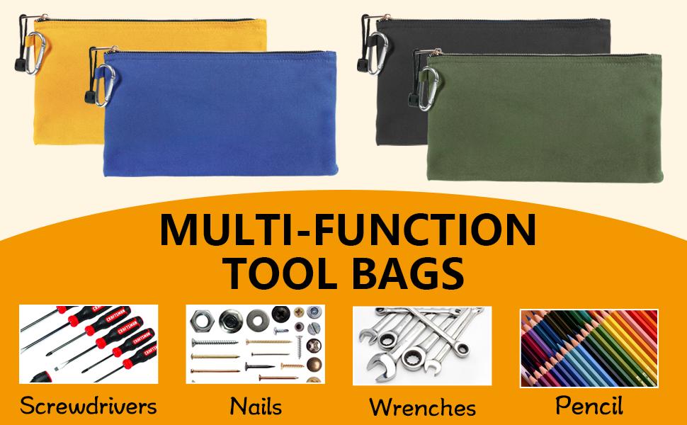 Multi-function tool bags