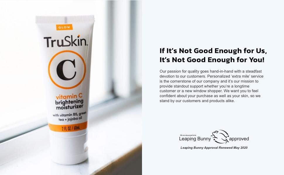 Vitamin C Moisturizer is Leaping Bunny Approved Cruelty Free