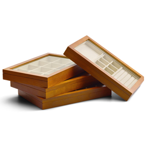solid wood jewelry box