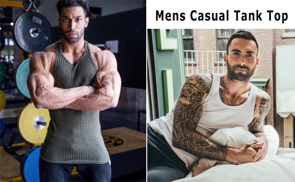 MEN CASUAL TANK TOP