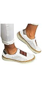 women slip on loafer