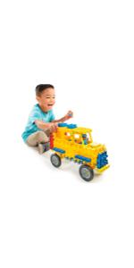 Little Tikes Waffle Blocks Vehicle School Bus