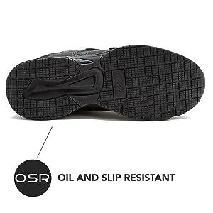 oil resistant work shoes waitress